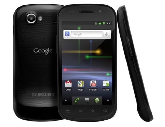 Nexus S smartphone